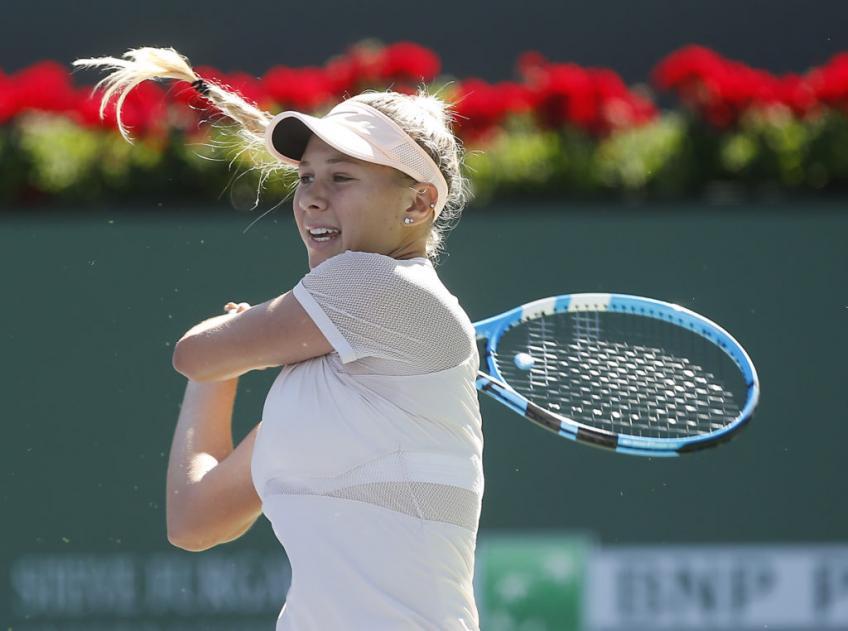 Coup de projecteur sur WTA: Les 100 meilleurs débutants – Amanda Anisimova