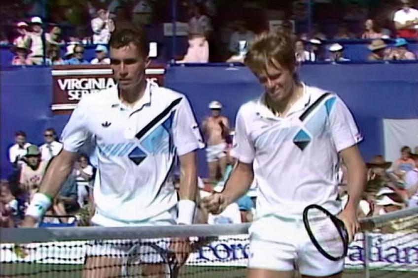 7 décembre 1985: Stefan Edberg bat Ivan Lendl dans une thriller à Kooyong