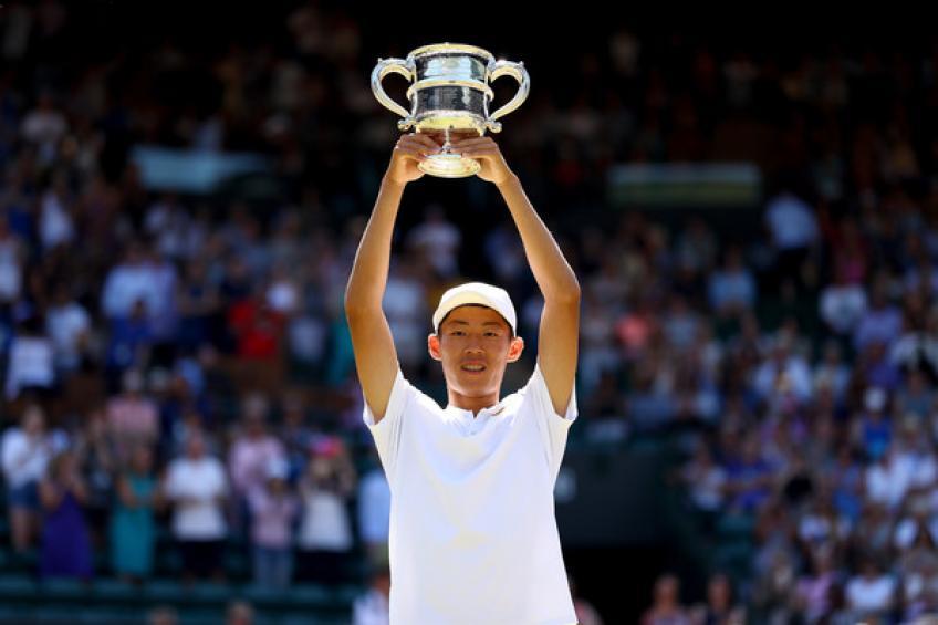 Chun Hsin Tseng et Clara Burel remportent le titre de champion du monde 2018 de la ITF prix