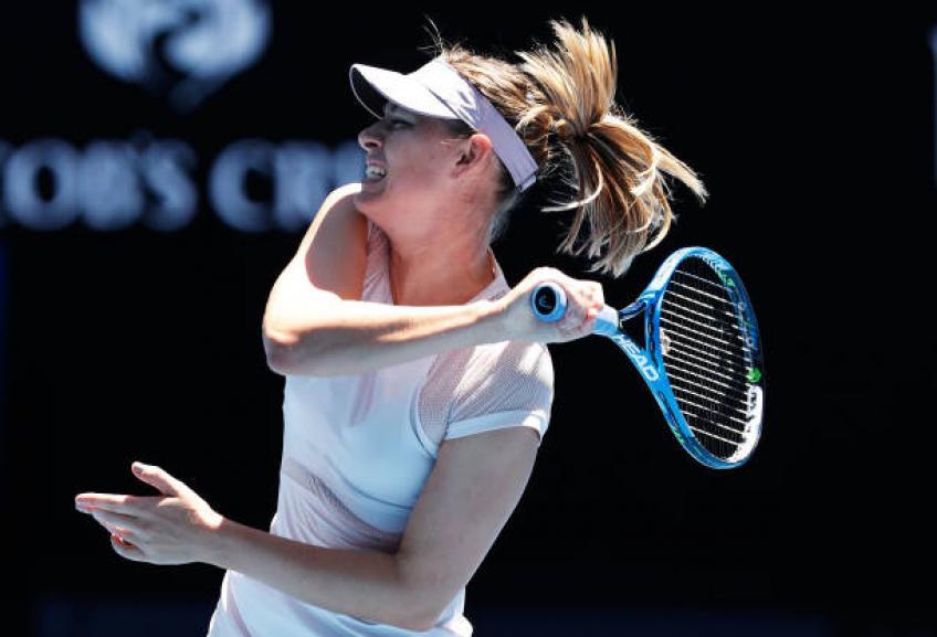 Maria Sharapova: Je n'ai jamais été dans une bonne éducation système