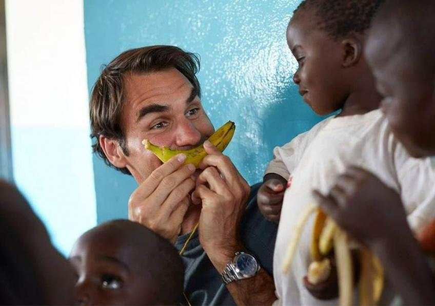 Exclusif: la Fondation Roger Federer atteint le million les enfants!
