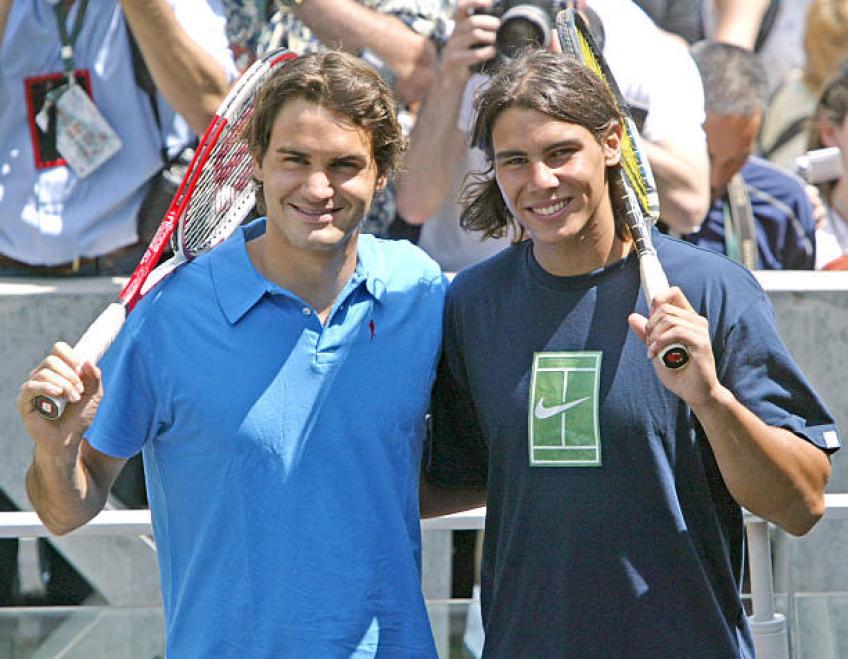 Tour Insider explique pourquoi Roger Federer et Rafael Nadal sont grandes personnes