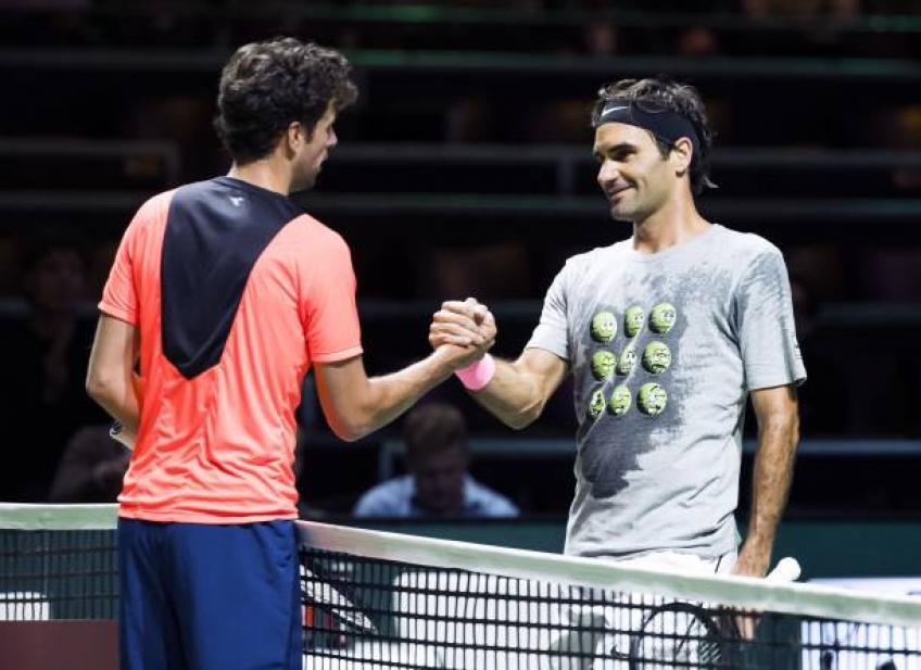 Roger Federer me domine parfois, mais j'apprécie son jeu – Haase