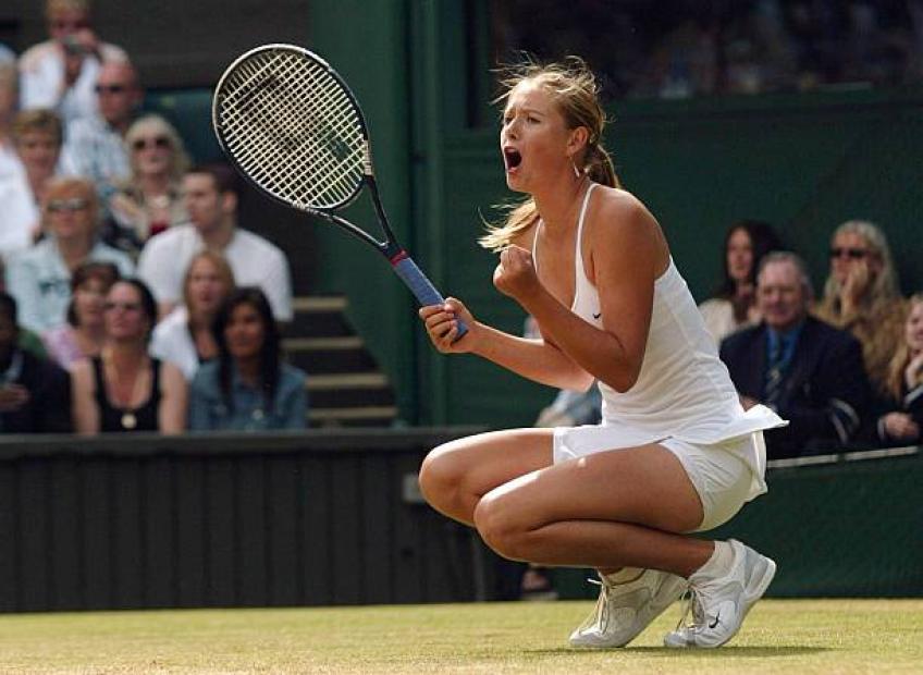 Maria Sharapova: Je ne savais pas que les nerfs existaient quand je jouais 2004 Wimbledon