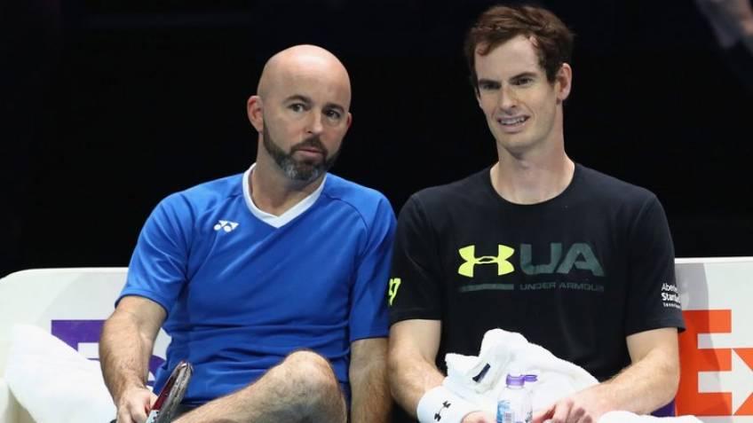 Jamie Delgado, entraîneur: Andy Murray se surpasse cette intersaison