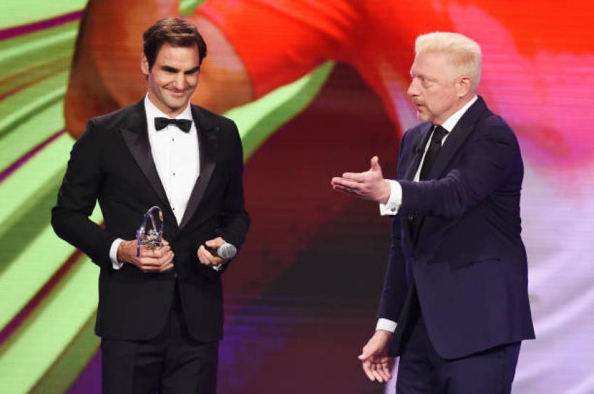Roger Federer défend Boris Becker: 'Ne critiquez pas lui'