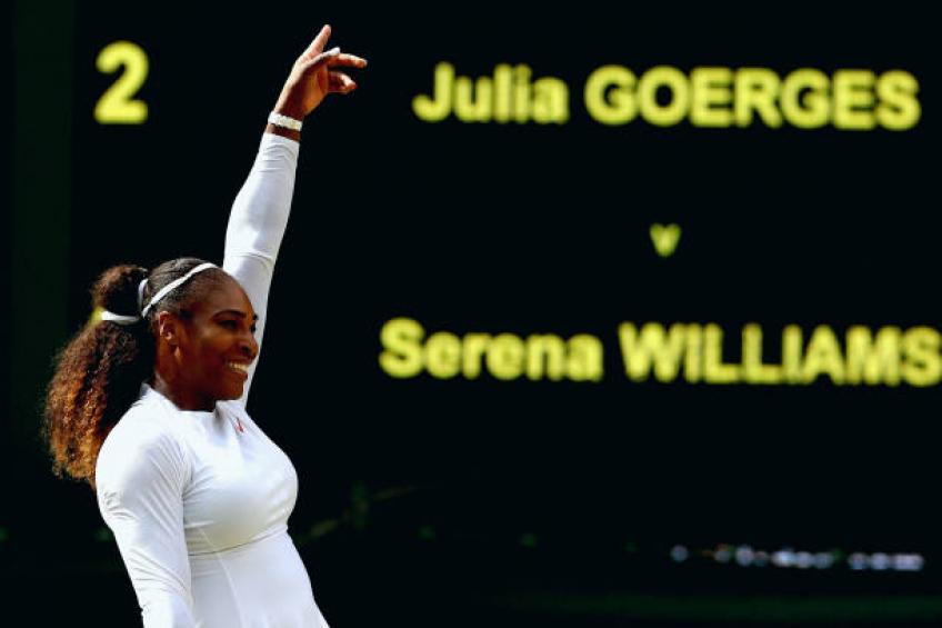 Je n'essaye pas d'intimider les adversaires, dit Serena Williams