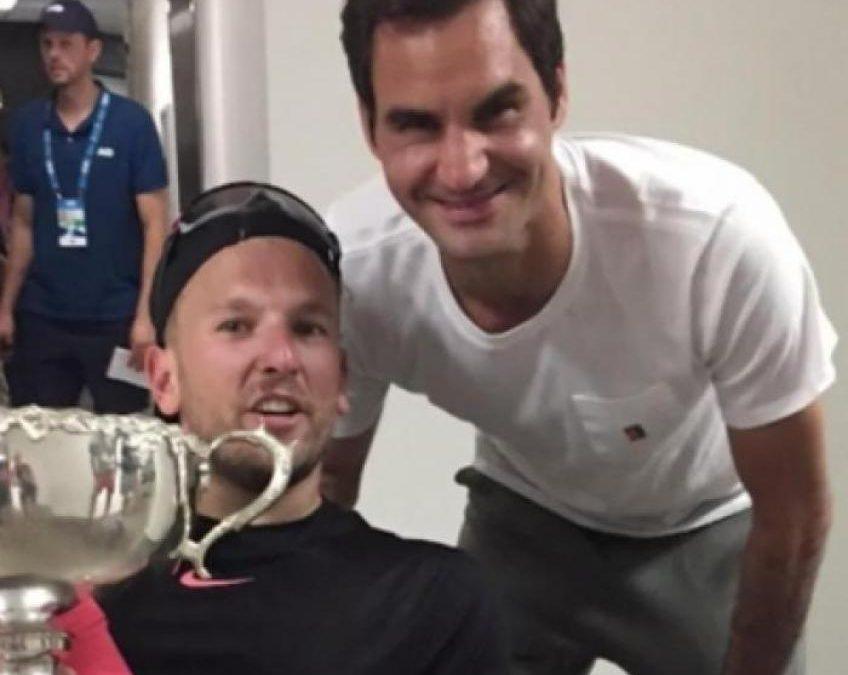 Dylan Alcott se souvient d'une période embarrassante avec Roger Federer