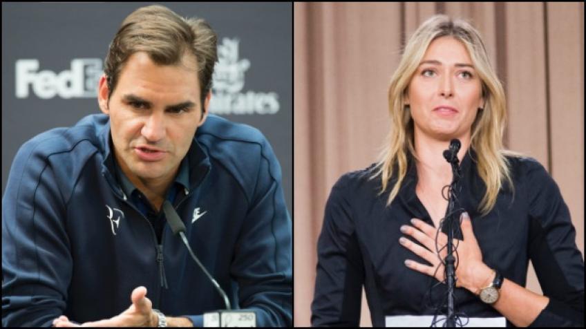 Maria Sharapova explique pourquoi elle aime Roger Federer