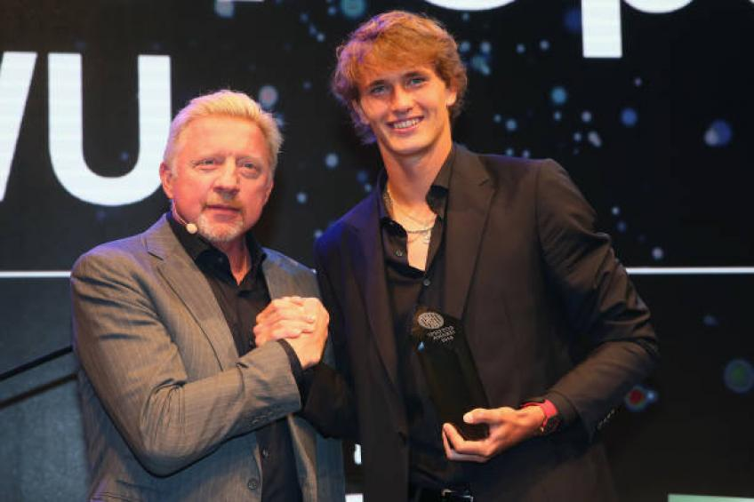 Boris Becker: Zverev a joué au niveau mondial contre Federer, Djokovic