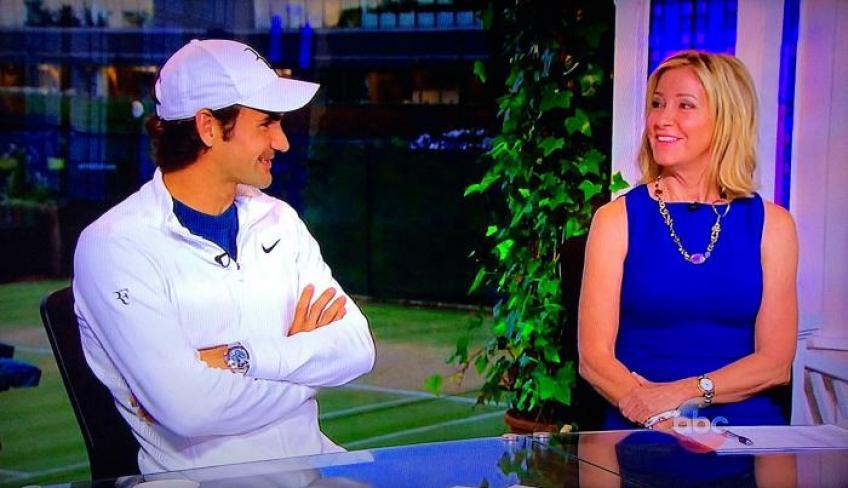 Chris Evert: Roger Federer était spectaculaire, mais les femmes allumettes…