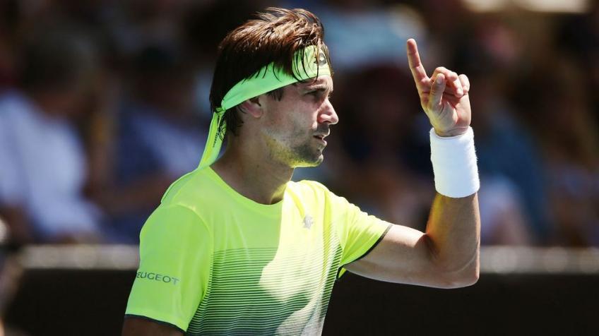 Le quadruple champion David Ferrer se prépare pour la finale à Auckland apparence