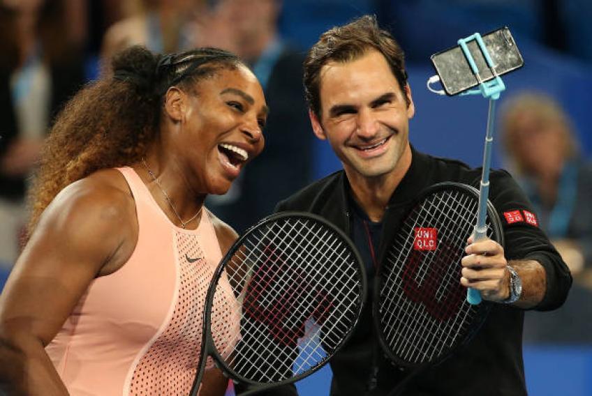 Serena Williams était tendue et excitée avant d'affronter Roger Federer – Entraîneur