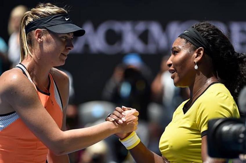 Maria Sharapova: 'Serena Williams et moi sommes différents tout'