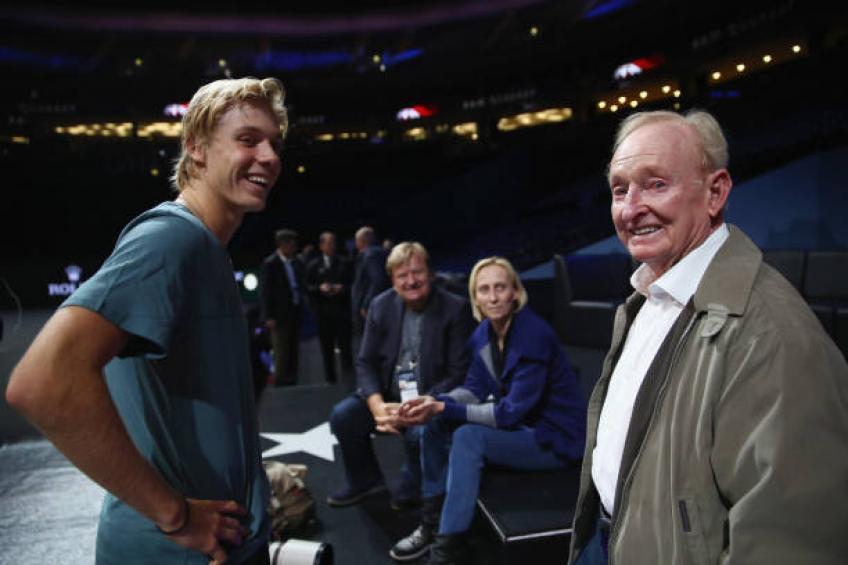Denis Shapovalov: C'est incroyable d'être comparé à Rod Laver