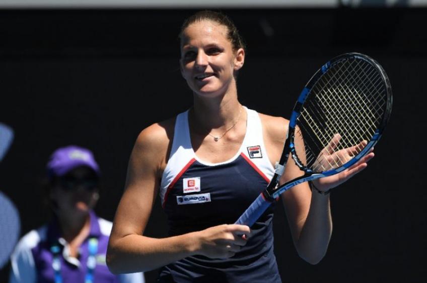 Open d'Australie: Karolina Pliskova et Garbine Muguruza débutent avec des victoires faciles