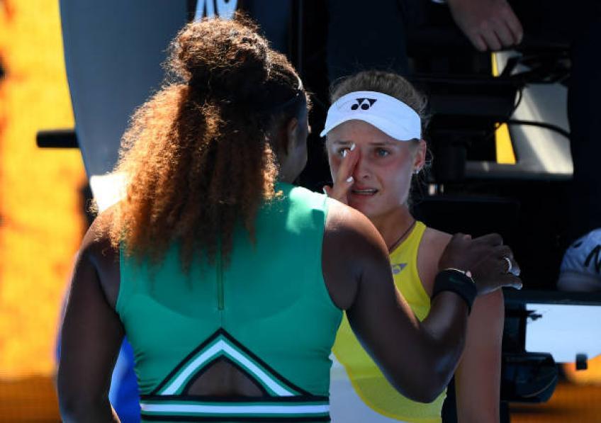 La réaction de mon adversaire m'a brisé le cœur, admet Serena Williams