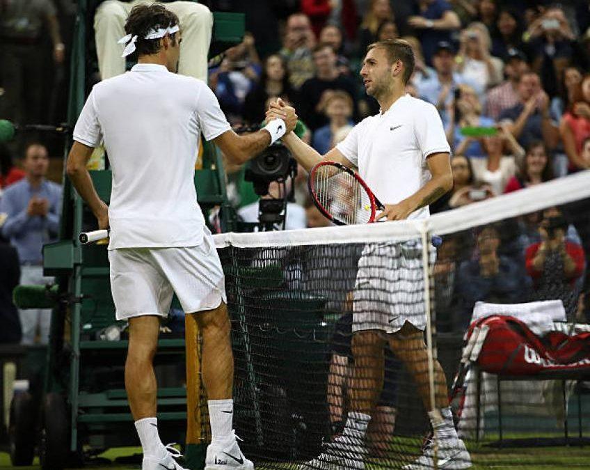 Dan Evans a hâte de faire face à Roger Federer: «Bien opportunité'