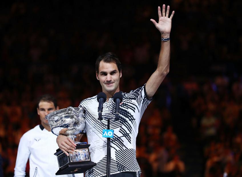 """""""L'un de mes trois matchs les plus épiques"""" – Federer à propos de sa défaite Nadal en 2017"""