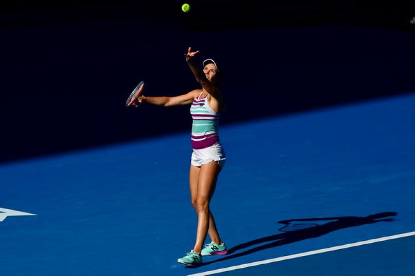 Australian Open: stylos de la princesse d'université Danielle Collins l'histoire en premier ..