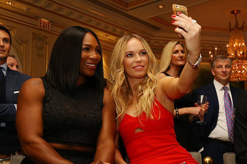 Wozniacki: 'Écouter Serena Williams a été un grand apprentissage expérience'