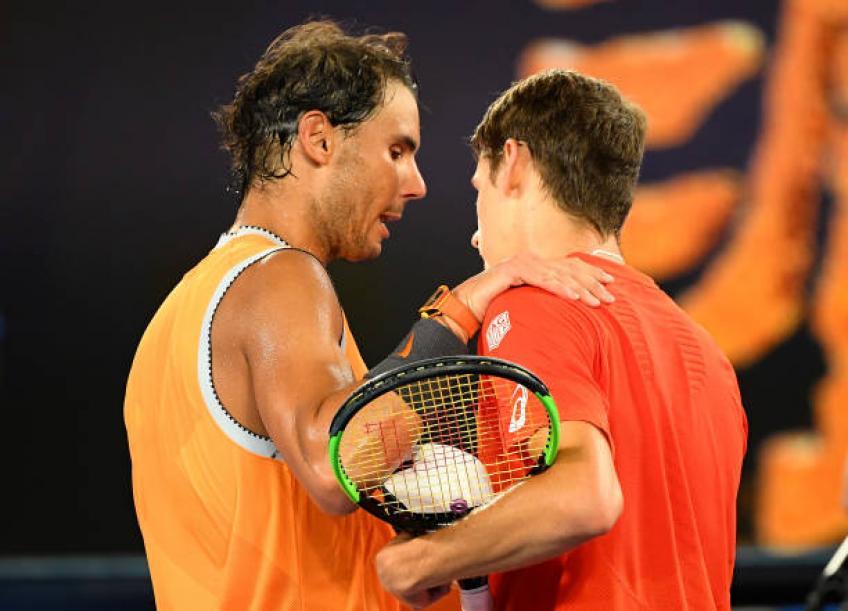 Rafael Nadal: 'Berdych et De Minaur ont des relations différentes personnalités