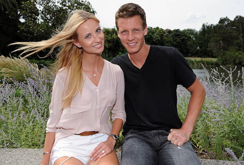 Berdych envisage d'avoir des enfants avec Ester Satorova après carrière de tennis