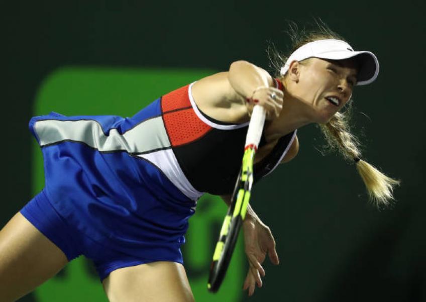 Après avoir été victime de violence verbale, Wozniacki envisage toujours de jouer Open de Miami