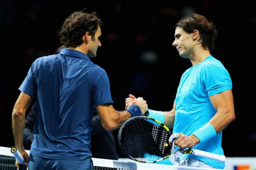ANALYSE ATP: Rafael Nadal brise le coup droit de Roger Federer à Londres en 2013