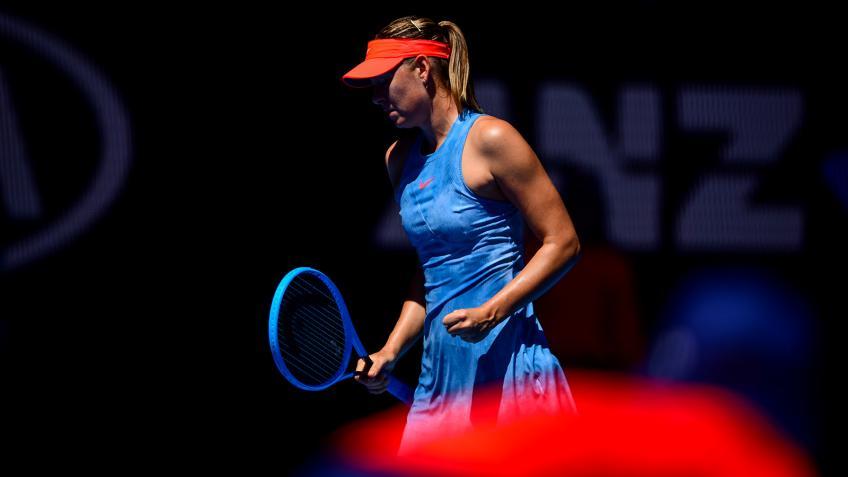 Open d'Australie: Maria Sharapova élimine Wozniacki thriller