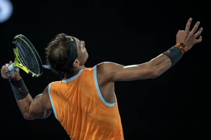 Nadal: 'Je ne peux pas être agressif quand je ne sers pas comme Roger Federer'