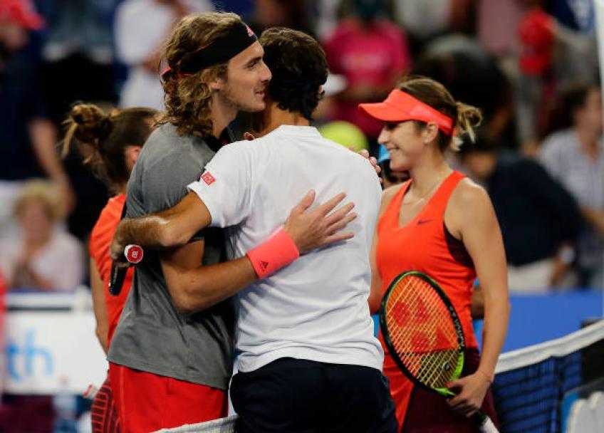 Tu dois croire en toi pour battre Roger Federer, dit Tsitsipas