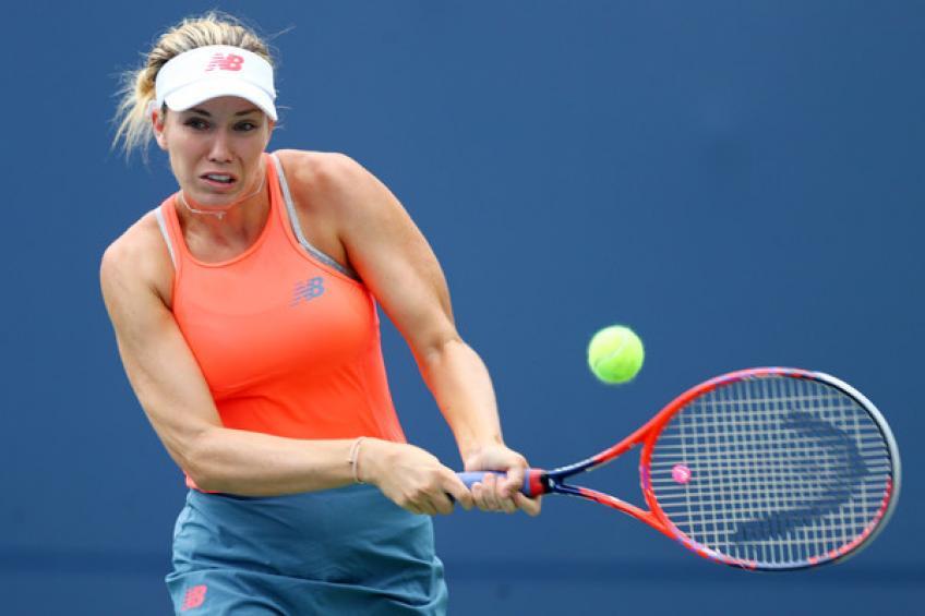 Danielle Collins à la vapeur Julia Goerges dans le premier match de open d'Australie