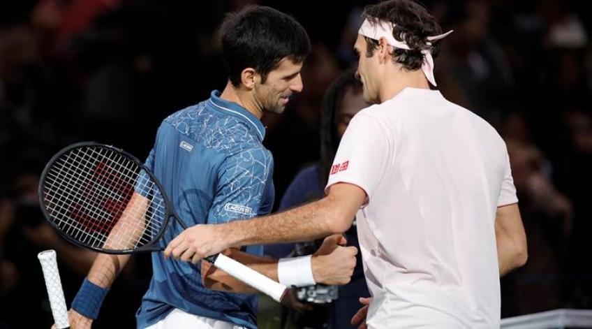 Roger Federer: Novak Djokovic m'a fait évoluer mon jeu