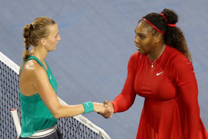 Je n'ai pas peur de Serena Williams, dit Petra Kvitova
