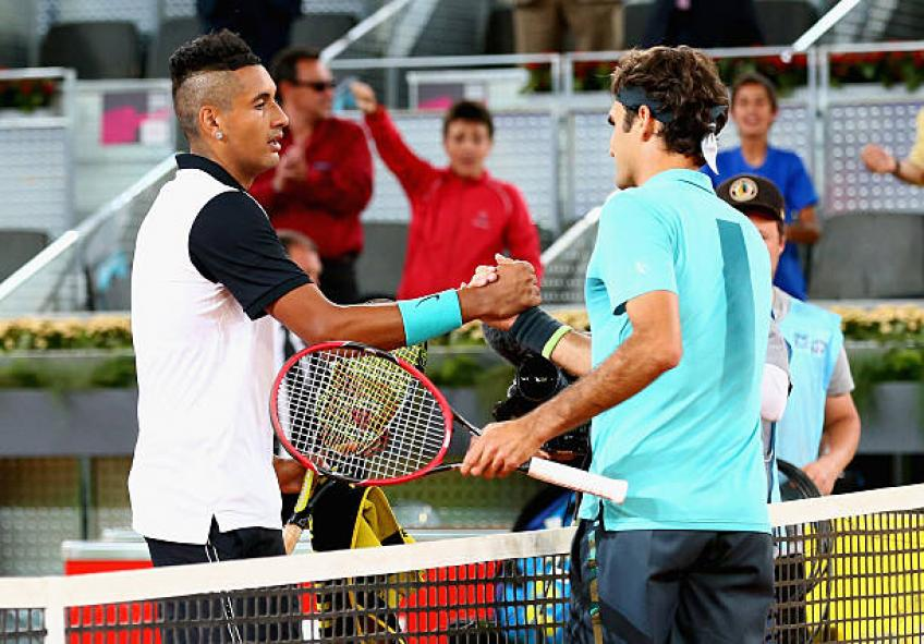 Nick Kyrgios révèle ce qui rend Roger Federer et Rafael Nadal super