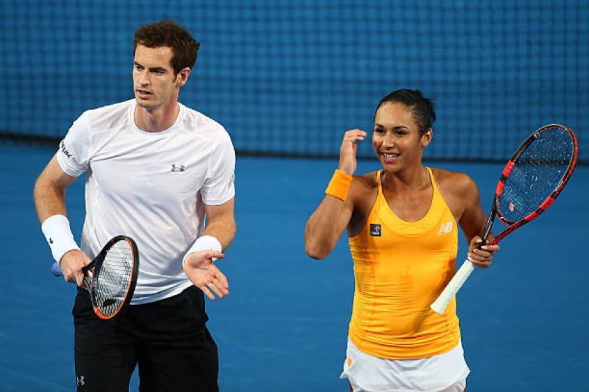Heather Watson réagit au choc d'Andy Murray annonce