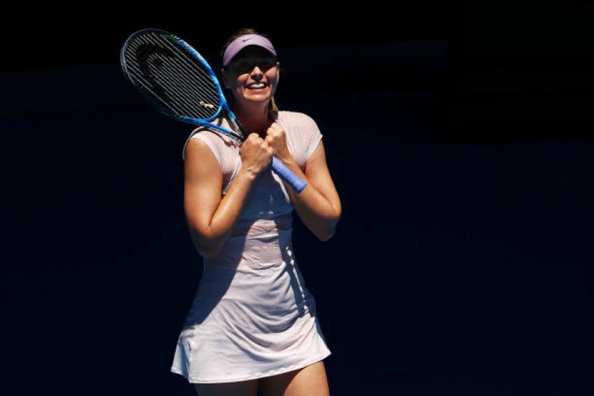 Harriet Dart se réjouissait de faire face à Maria Sharapova: «Elle a toujours avait l'air si gentil