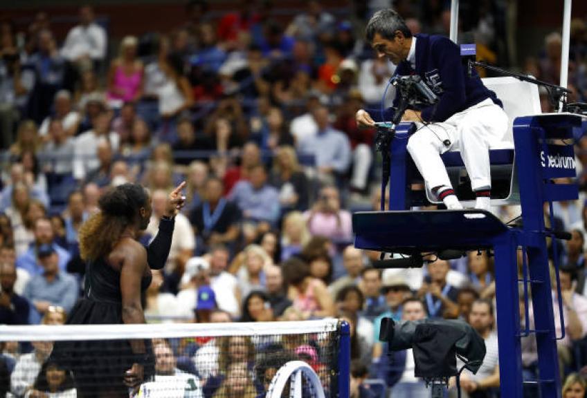 Serena Williams n'a pas peur de contester l'arbitre, dit Jim Courier