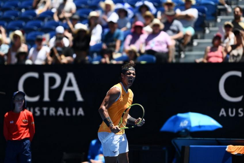 Open d'Australie: Rafael Nadal dépasse James Duckworth pour début solide