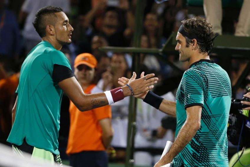 Nick Kyrgios pour commenter Roger Federer vs Taylor Fritz choc
