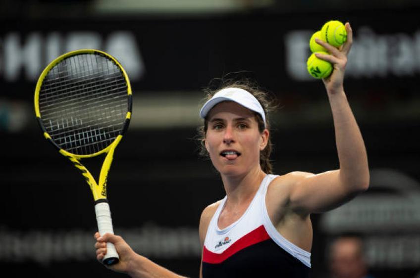 Johanna Konta: 'Nous allons attendre des décennies avant de voir une personne comme Andy Murray'