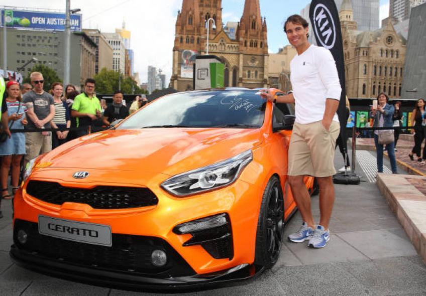 Rafael Nadal: 'Je ne suis qu'un conducteur prudent et j'ai beaucoup de amusement!'
