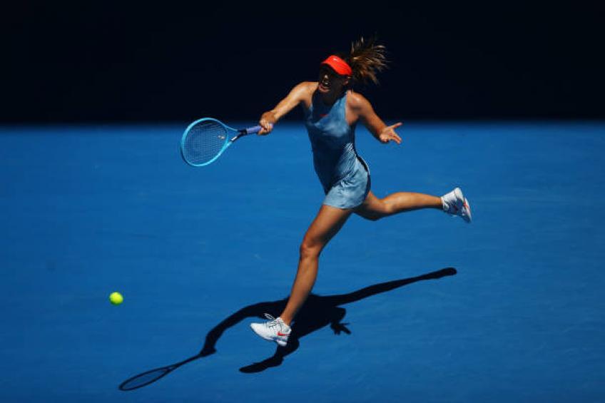 Sharapova: Je ne sais pas pendant combien de temps je vais jouer le tour