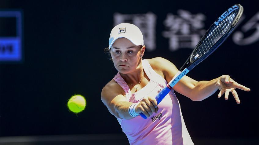 Open d'Australie: Barty bat Sharapova et met en place le choc QF avec Kvitova