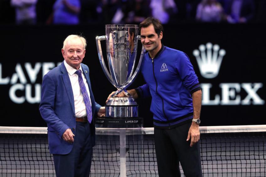 Rod Laver assistera au match d'ouverture de Roger Federer à Melbourne