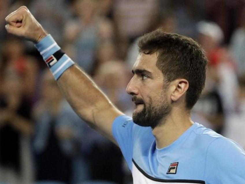 Marin Cilic, blessé, fait ses classes après l'Open d'Australie sortie