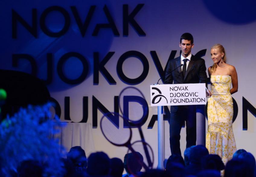 La Fondation Novak Djokovic recueille 100 000 $ au cours de la saison Campagne de dons