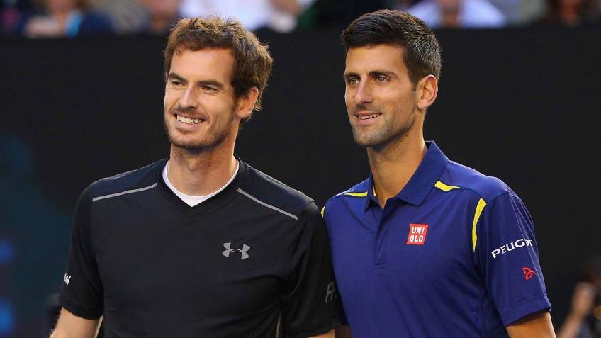 Novak Djokovic rend hommage à Andy Murray sur le social médias