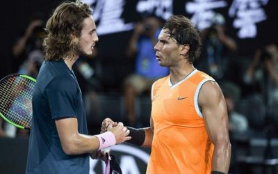Stefanos Tsitsipas: «Rafael Nadal apporte le tennis dans une nouvelle dimension'